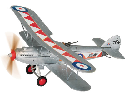 Hawker Hart, K2986, 600 (City of London) Sqn RAuxAF, Enero, 1935, 1:72, Corgi