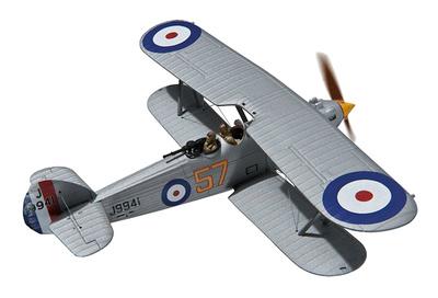 Hawker Hart J9941, 54 Sqn, RAF Museum, Hendon, 1:72, Corgi