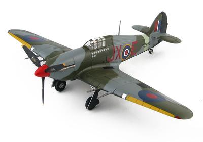 """Hawker Hurricane IIc """"Night Reaper"""" JX-E/PZ865, BBMF, 1:48, Hobby Master"""