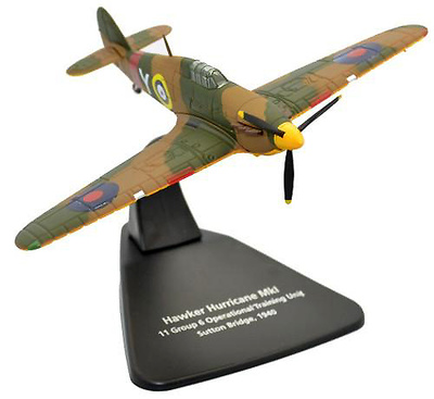 Hawker Hurricane MKI, 11 Group RAF, Sutton Bridge, Inglaterra, 1940, 1:72, Oxford