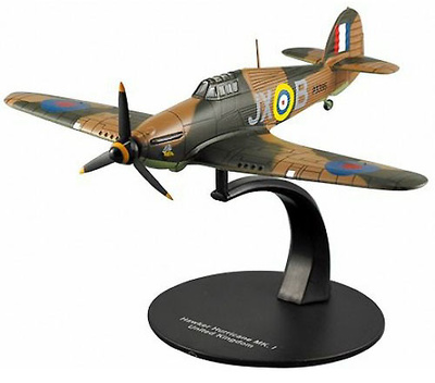 Hawker Hurricane Mk. I, Royal Air Force, 2º G.M., 1:72, DeAgostini