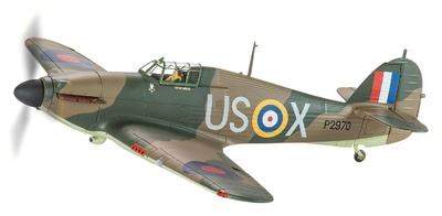 Hawker Hurricane Mk.I, P2970, Geoffrey Page, 'Battle of Britain Memorial', 1:32, Corgi