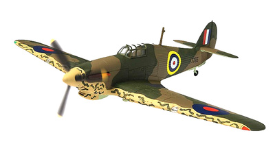 "Hawker Hurricane Mk.I, V7795 Plt. Off William ""Cherry"" Vale, RAF No.80 Squadron, Maleme, Creta, 1941, 1:72, Corgi"