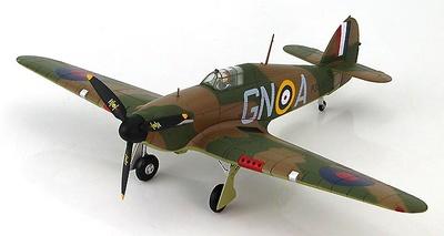 Hawker Hurricane Mk.I GN-A, piloto James Brindley Nicolson, 249 Sqn.,  England, 1940, 1:48, Hobby Master