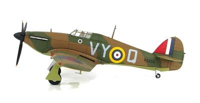 Hawker Hurricane Mk.I P3854 of 85 Sqd RAF, Squadron Leader Peter Townsend, Batalla de Inglaterra, 1940, 1:48, Hobby Master