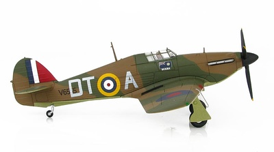 Hawker Hurricane Mk.I V6555 of 257 Sqn., S/LDR. Stanford Tuck,   RAF, North Weald, Octubre, 1940, 1:48, Hobby Master