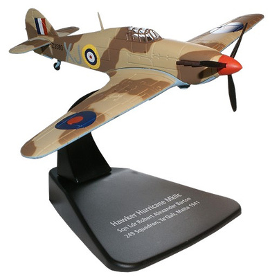 Hawker Hurricane MkIIc, Robert Alexander, 249 Squadron, Malta, 1941, 1:72, Oxford
