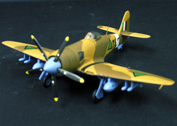 Hawker Sea Fury FB-11, No 254 Iraqi Airforce Baghdad Fury, 1:72, Witty Wings