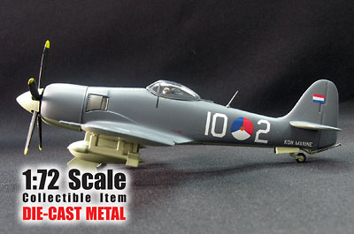 Hawker Sea Fury FB51 10-2, Netherlands Navy, 1:72, Witty Wings