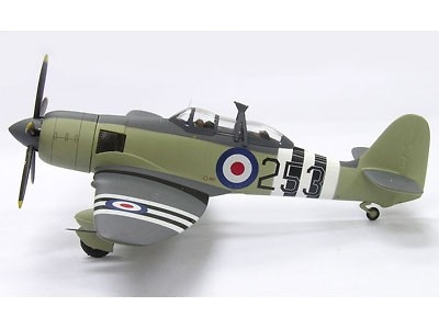 Hawker Sea Fury T.20 Royal Navy 253, 1:72, Witty Wings