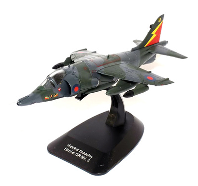 Hawker Siddeley Harrier GR.3 XZ993 / M, 4 Squadron RAF, Gutersloh, Germany, 1989, 1:72, Hachette