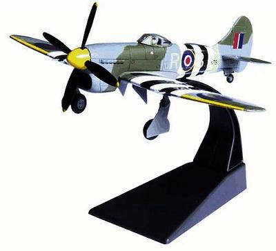 Hawker Tempest Mk V, RAF, 1:72, Amercom