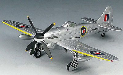 "Hawker Tempest V, NV708/JCB, Wing Commander J.C., ""Zipp"" Button, 1947, 1:72, SkyMax"