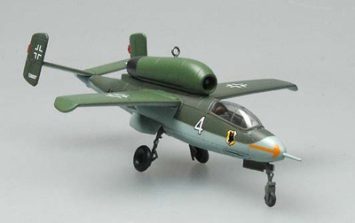 Heinkel HE162 A-2 1/JG1, Alemania, Mayo, 1945, 1:72, Easy Model