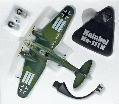 Heinkel He-111H, Alemania, 2ª Guerra Mundial , 1:144, Atlas