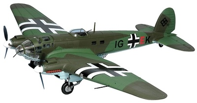 Heinkel He 111P-2, Luftwaffe 2./KG 27, 1:48, Franklin Mint