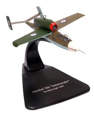Heinkel He 162 Salamander, Alemania, 1945, 1:72, Oxford