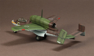 Heinkel He 162 Salamander, Jagdgruppe JG1, 1945, 1:72, War Master