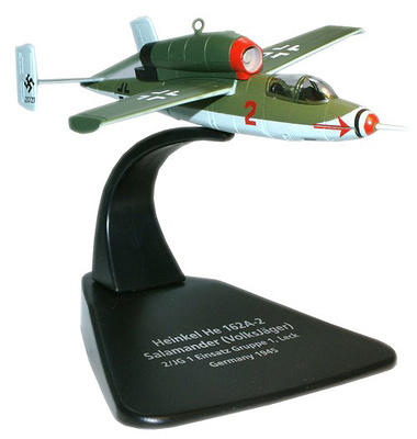 Heinkel He 162A-2 Salamander (VolksJäge), Germany, 1945, 1:72, Oxford