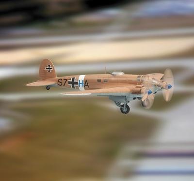 Heinkel He111, dt. Luftwaffe StG 3, Nordafrika 1941, 1:48, Franklin Mint