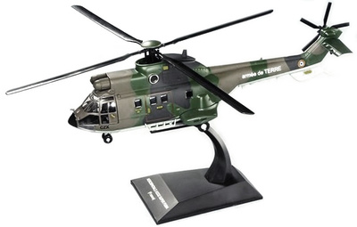 Helicóptero Aerospatiale AS332 Super Puma (Francia), 1:72, Planeta DeAgostini