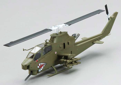 Helicóptero AH-1F Cobra, Alemania, 1:72, Easy Model