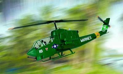 Helicóptero AH-1J Cobra, US Navy VX-5 Vampires, 1:48, Franklin Mint