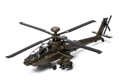 Helicóptero AH-64A Apache Longbow, U.S. Army, 3rd Infantry Division, 2003-hoy, 1:72, Air Force One