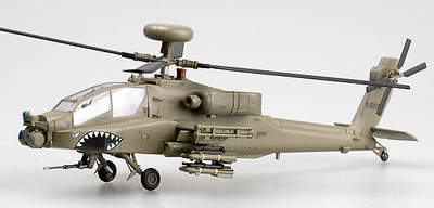 Helicóptero AH-64D, 99-5118, USA, compañía C, 1-3º ATKHB, 3ª Div. Inf., Irak, 2003, 1:72, Easy Model