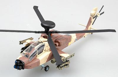 Helicóptero AH-64D, No966, Ejército del Aire Israelí, 1:72, Easy Model
