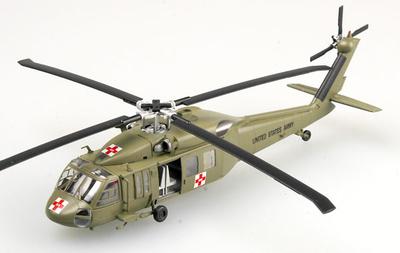 Helicóptero Augusta Bell UH60A, MedEvac, 1:72, Easy Model