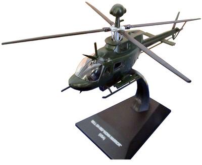 "Helicóptero Bell OH-58D ""Kiowa Warrior"", USA, 1:72, Altaya"