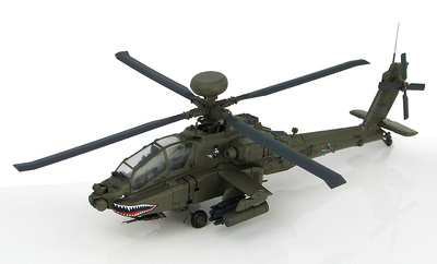 Helicóptero Boeing AH-64D Longbow Apache 8th Battalion, 229th Aviation Regiment, US Army, 1:72, Hobby Master