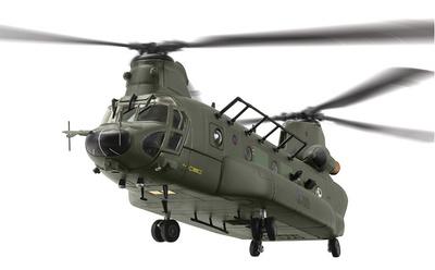 Helicóptero Boeing Vertol Chinook HC.3, ZH904, RAF No.18 Squadron, Odiham, 2012, 1:72, Corgi