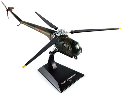 Helicóptero Bristol Sycamore HR.14, Reino Unido, 1:72, Altaya
