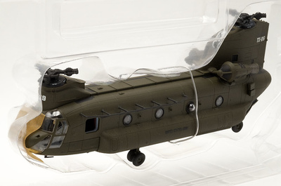 Helicóptero Chinook CH-47D, US Army 101st Airborne Div, 2003, Afganistán, 1:72, Forces of Valor
