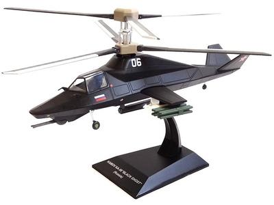 """Helicóptero Kamov KA-58 """"Black Ghost"""", Rusia, 1:72, Planeta DeAgostini"""