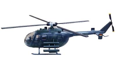 Helicóptero MBB BO 105 P, Alemania, 1:72, Planeta DeAgostini