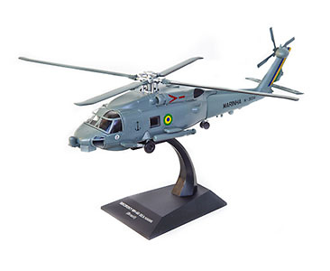 Helicóptero MH-16 Sea Hawk, Marinha do Brasil, 1:72, Planeta DeAgostini