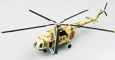 "Helicóptero Mi-17""55"", Base de Boodyonnovsk, Primavera de 2001, 1:72, Easy Model"