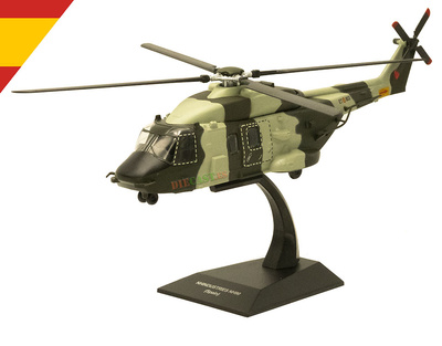 Helicóptero NH-90, Ejército de Tierra, España, 2016, 1:72, Planeta DeAgostini