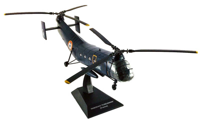 Helicóptero Piasecki H-21 Flying Banana, Marine Nationale, Francia, 1:72, Planeta DeAgostini