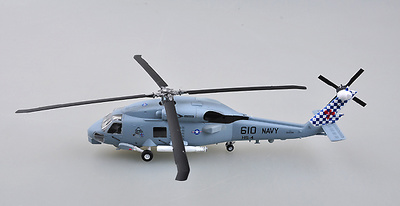 "Helicóptero SH-60B ""Seahawk"", HS 4 ""Black Knights"", N°610, 1:72, Easy Model"