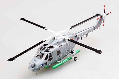 "Helicóptero Super Lynx, No 410 ""Blue Rhino"", Royal Navy, 1:72, Easy Model"