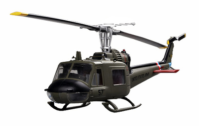 Helicóptero UH 1C 57th Aviation Company, 1:48, Easy Model