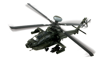 Helicóptero US AH-64D Apache Longbow, 1:48, Forces of Valor