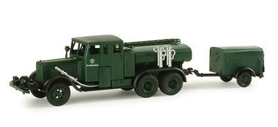 Henschel, camión cuba, 1:87, Minitanks