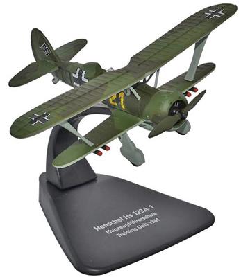 Henschel HS 123A1, unidad de entrenamiento de la Academia de  Pilotos de la Luftwaffe, 1:72, Oxford