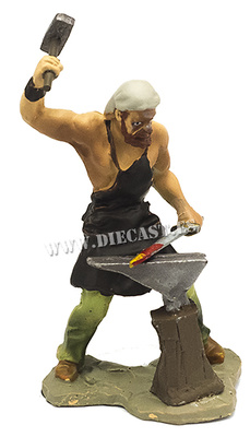 Herrero forjando espada, 1:30, Hobby & Work