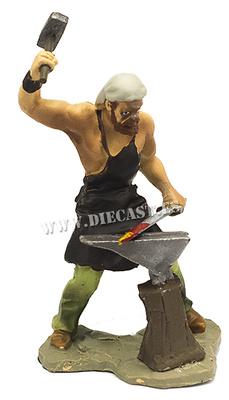 Herrero forjando espada, 1:32, Hobby & Work
